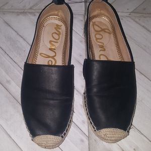 Sam Edelman  Size 8M Black&Tan Leather Flats